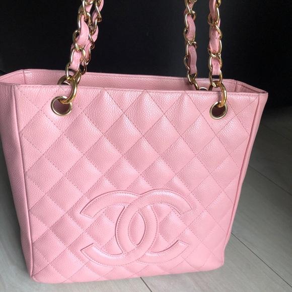 4ff4d8629fa9 CHANEL Handbags - 💕Chanel Tote Pink Caviar Leather💕